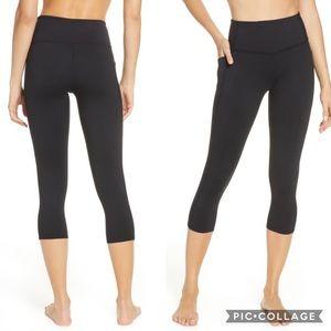 Zella | high waist pocket crop leggings 0067